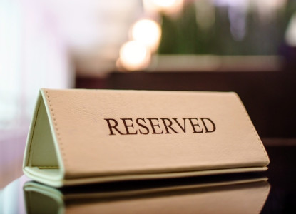 Dinner reservation for a group
