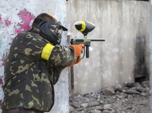 Paintball Outdoor, 500 Balls in Cologne