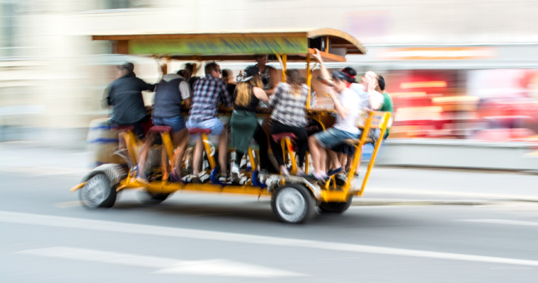 Beer Bike in Budapest - Pissup