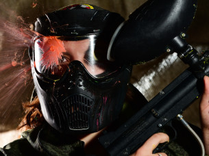 Paintball Indoor, 500 Balls in Cologne