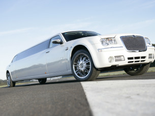 1 hour chrysler 300c limo hire in Copenhagen