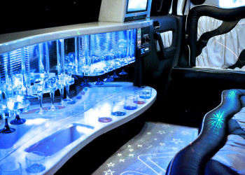 limousine from the inside photo