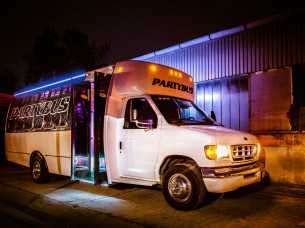 Party Bus Airport Transfer in Budapest