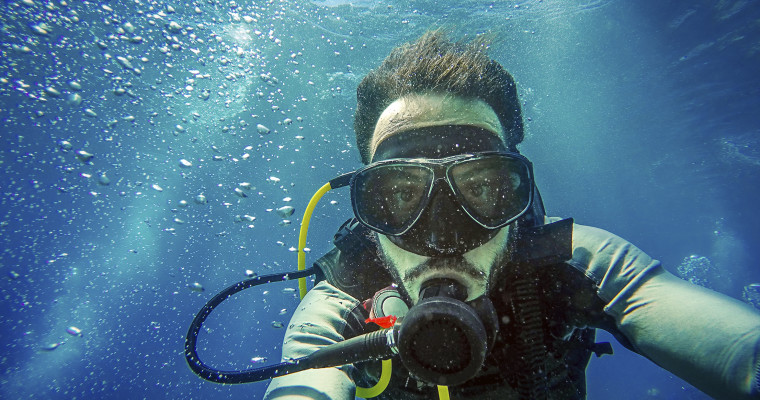 Scuba Diving in Benidorm on Stag Do