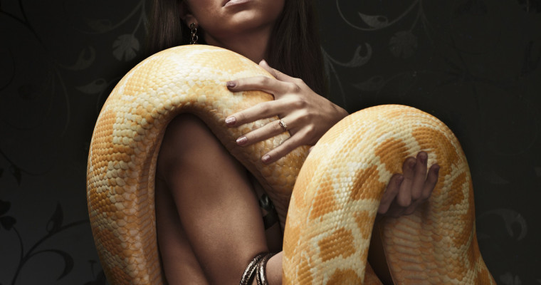 Barcelona stripper and snake show Pissup