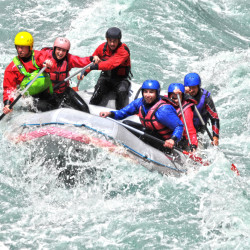 White Water Rafting in Bratislava on Stag Do