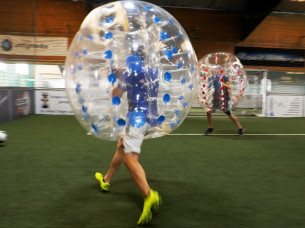 Bubble Football in Cologne