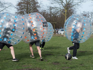 Bubble Football Outdoor in Amsterdam
