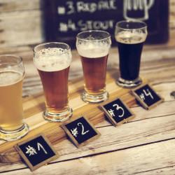 beer tasting with 4 beers SHT