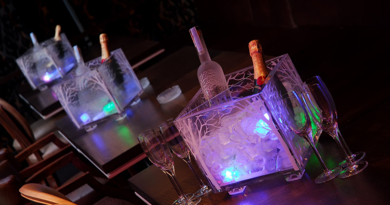 night club table reservation with belvedere vodka SHT