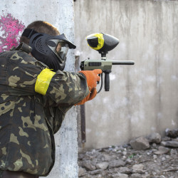 Outdoor paintballing in Cologne