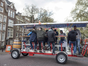 Beer Bike (XL) in Amsterdam