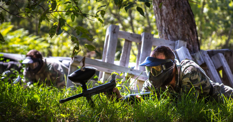 BUD paintball 9