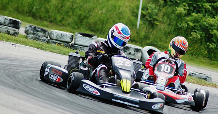 Outdoor superkarts Gdansk Pissup Stag Do
