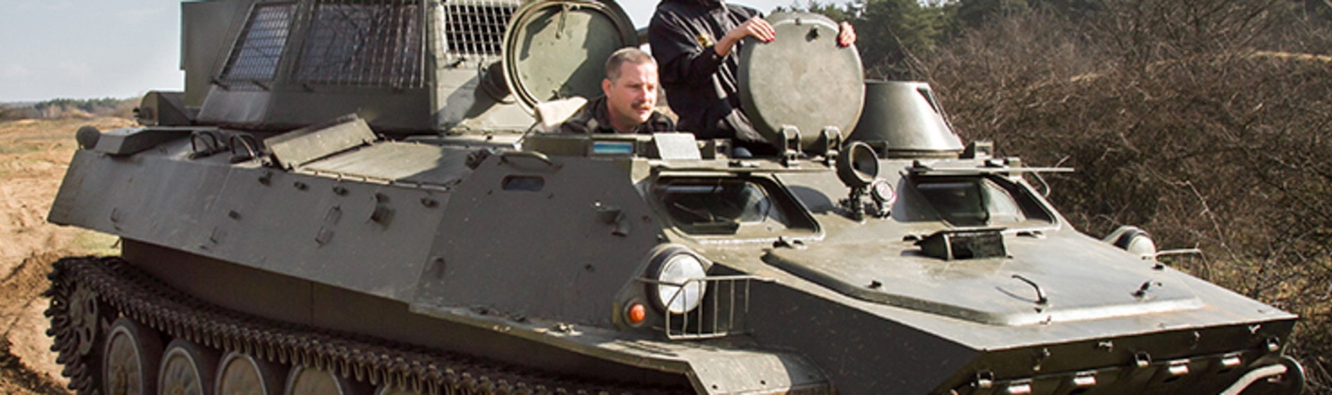 Budapest Budget Tank Riding & Driving image