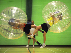 Bubble Football in Budapest