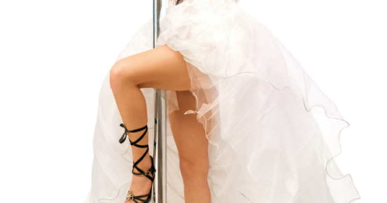 Fake Bride Stripper IST
