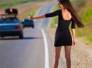 Sexy Hitchhiker i Budapest