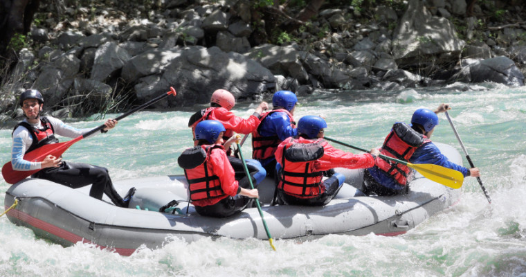 Wroclaw white water rafting - Pissup Stag Do