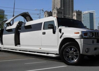 Warsaw Hummer Strip Limo  Supplied