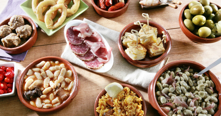 tapas selection SHT