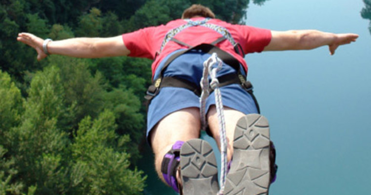 Warsaw bungee jump - Pissup Stag Do