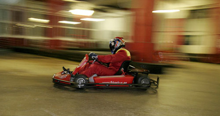 Indoor Karting Wroclaw - Pissup Stag Do