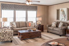 Choosing a Window Treatment Style for Your Manufactured Home