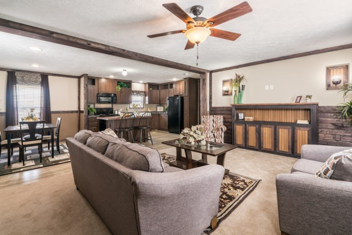 Spacious Four Bedroom Manufactured Homes That You Can Afford