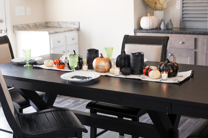 How to Decorate Your Dining Room Table for Fall on a Budget