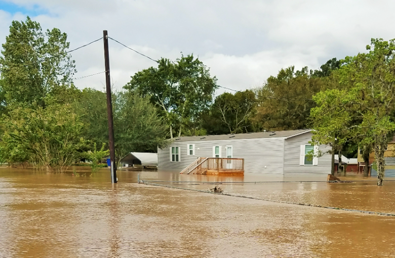 Elizabeth and Dale Phillips Home Flood