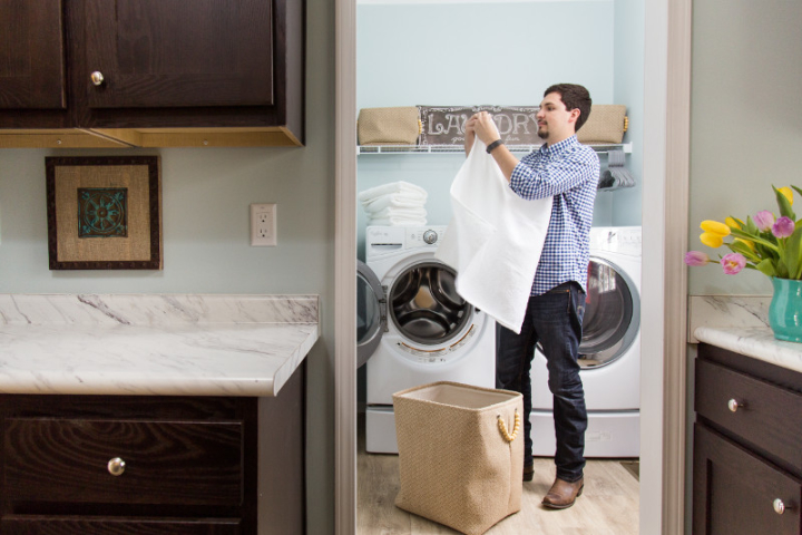 Organize Your Life: Tackling Laundry & Mud Rooms