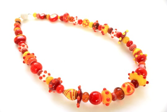 "Collier ""Tequila Sunrise"""