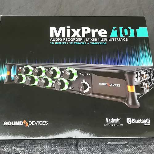 MixPre-10T's package