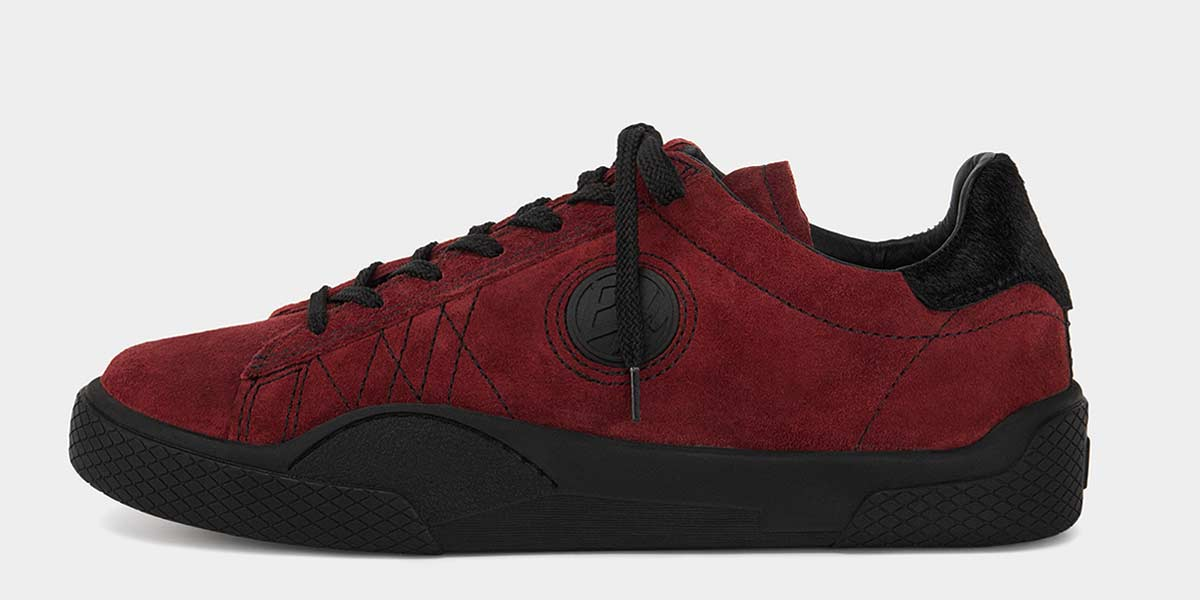 Product Feature: Wave Suede Rosso Black (Low-top)