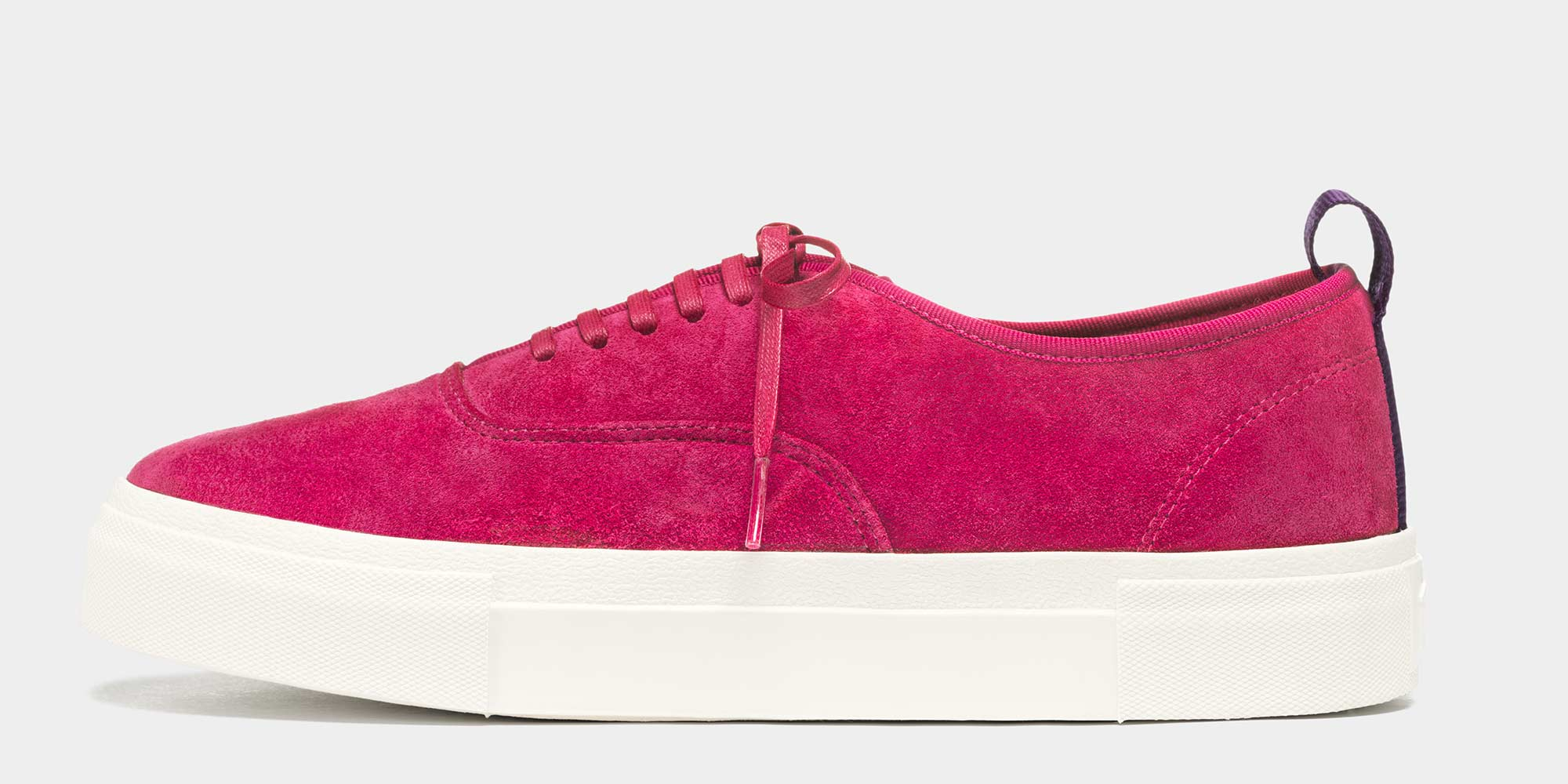 Section Profile: Mother Suede Magenta