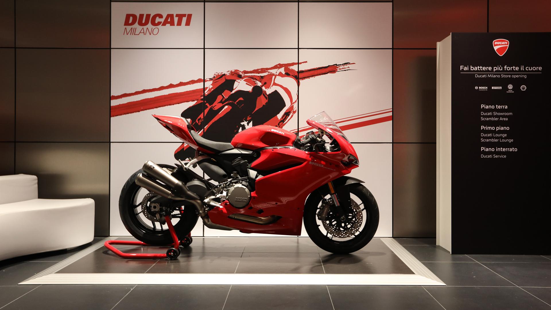 Inaugurazione Nuovo Store Ducati Milano