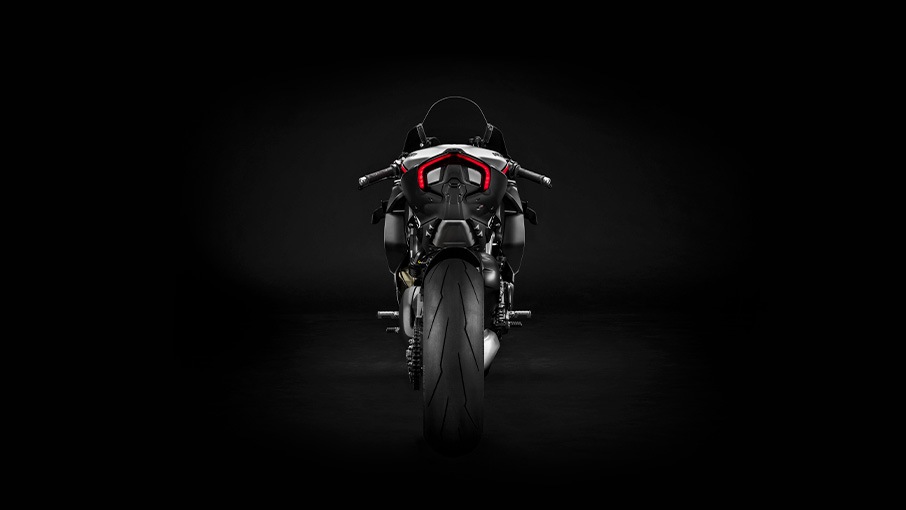 Ducati Panigale V4 SP rear view