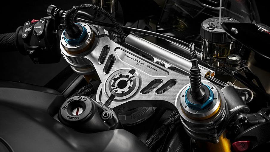 Ducati Panigale V4 SP adjustable suspension