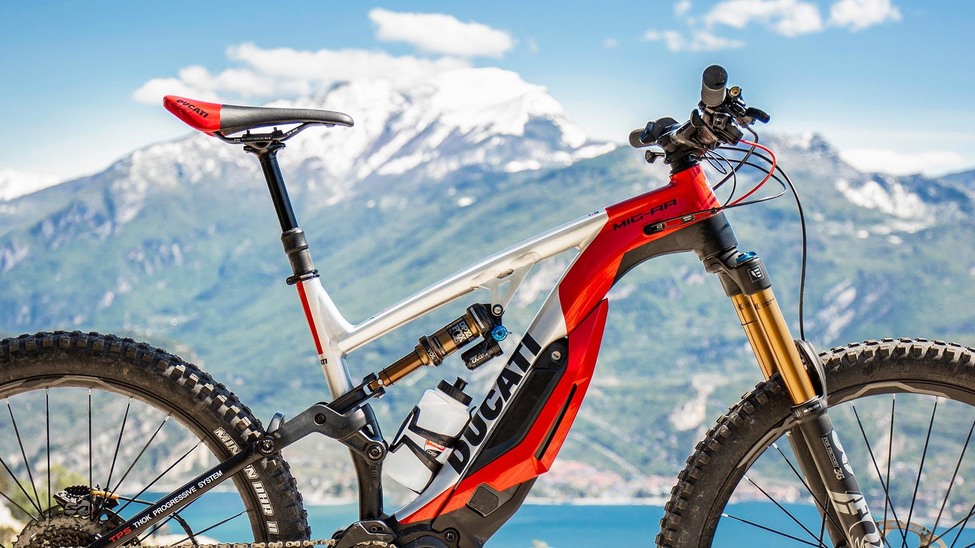 Ducati Mig Rr E Bike La E Mtb Da Enduro Secondo Ducati