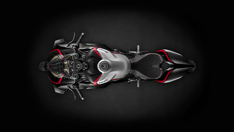 Ducati Panigale V4 SP top view