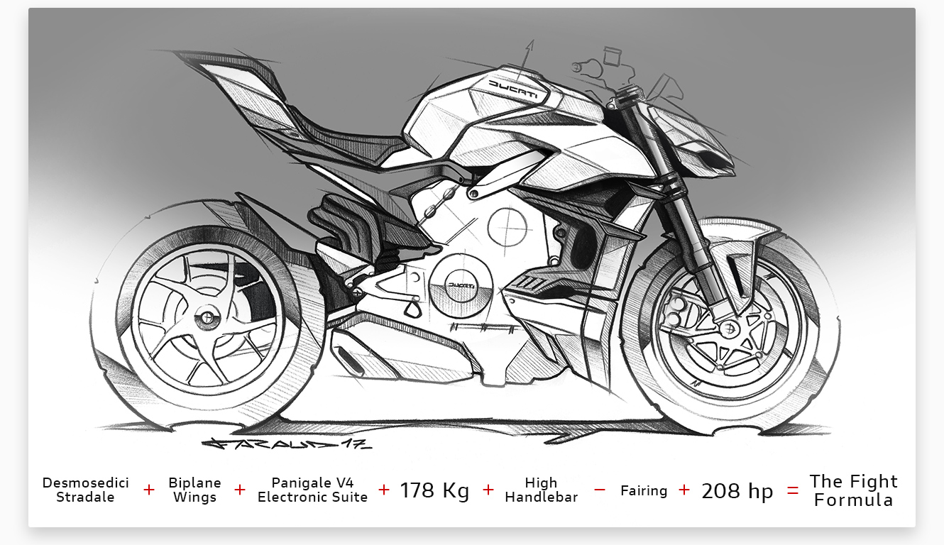 The fight formula - ducati streetfighter