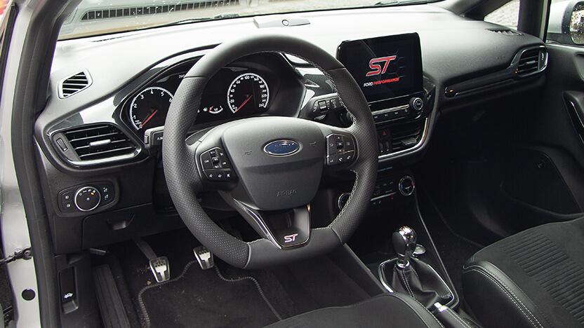 Ford Fiesta ST Innenraum