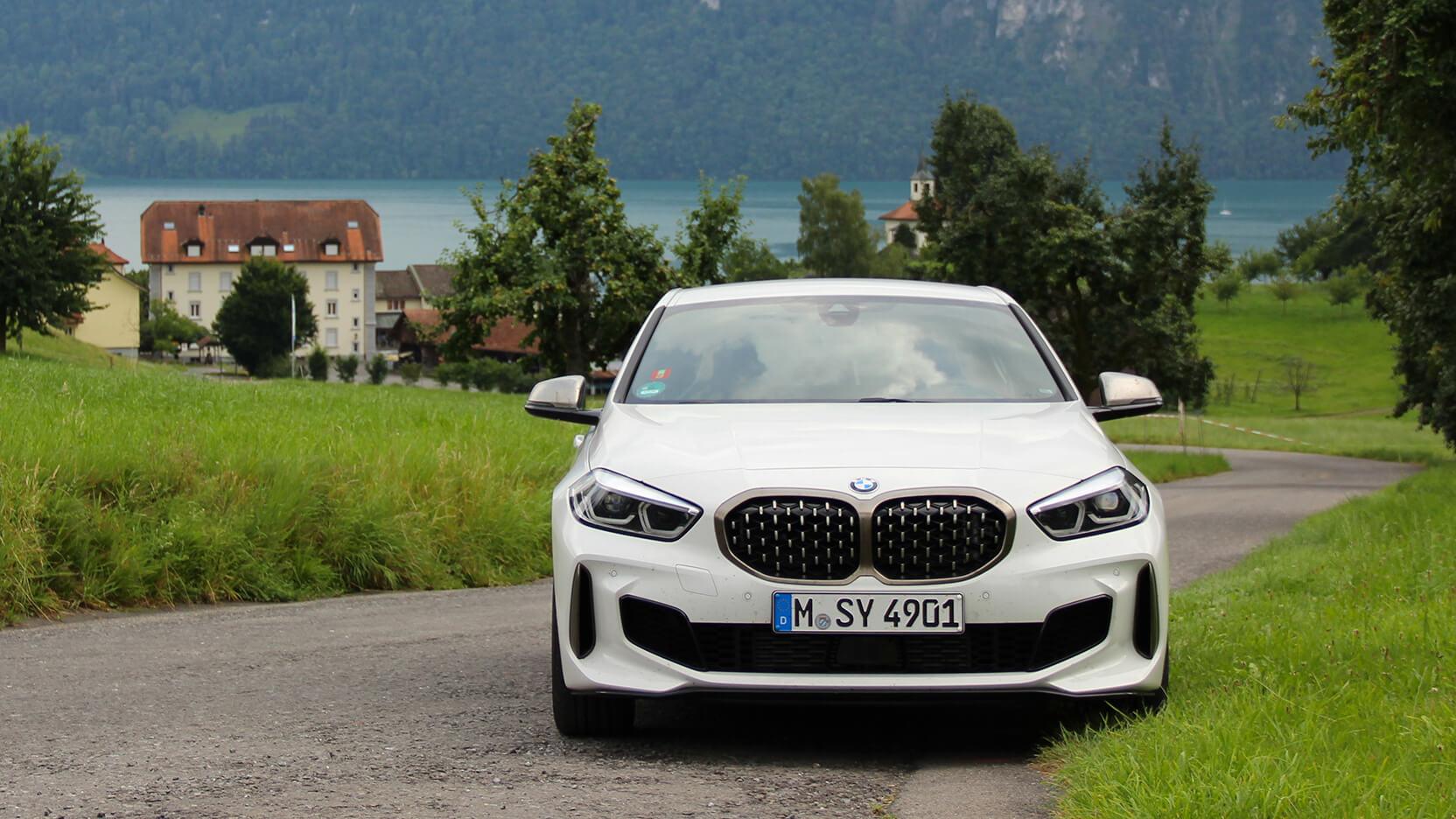 BMW M135i Test Front