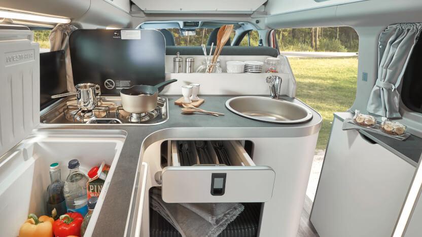 Campingbusse Vergleich Modelle Transit