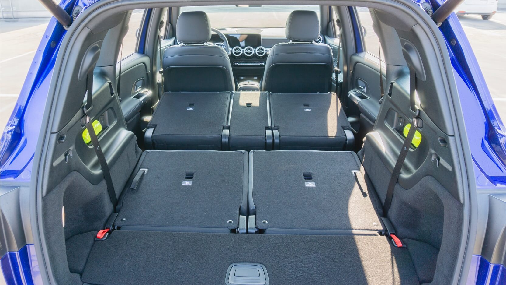 Mercedes GLB Test Kofferraum