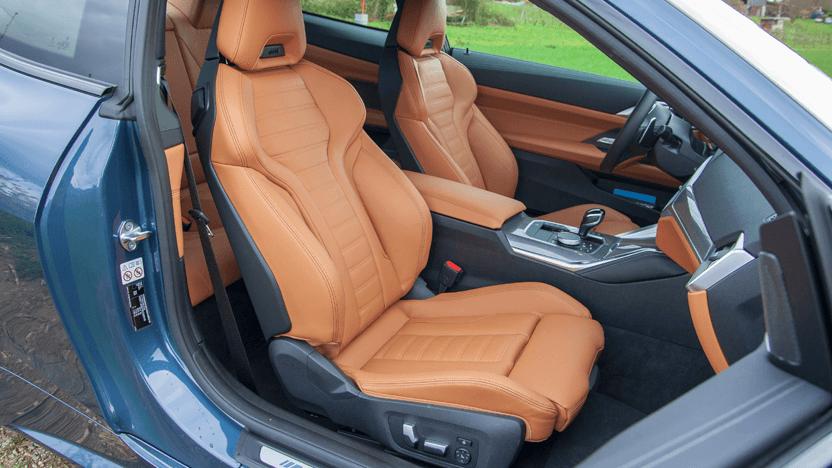 Test BMW 4er Innenraum