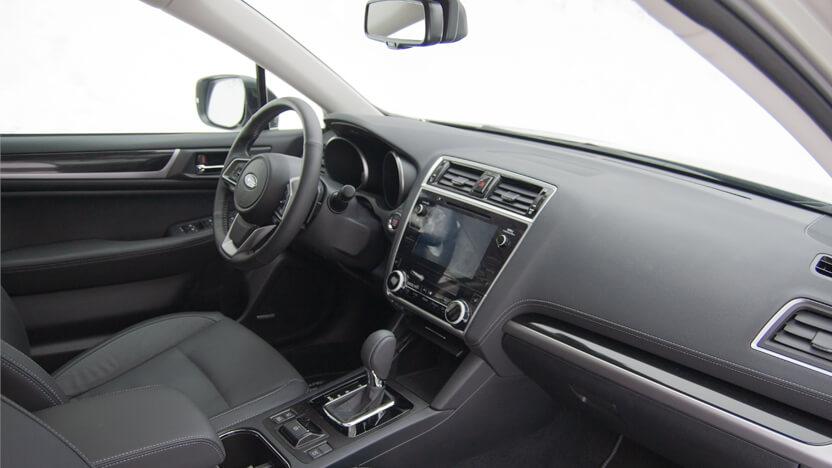 Subaru Outback Test Innenraum