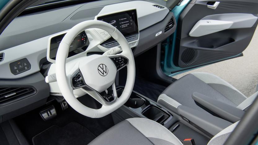 VW ID3 Innenraum Cockpit
