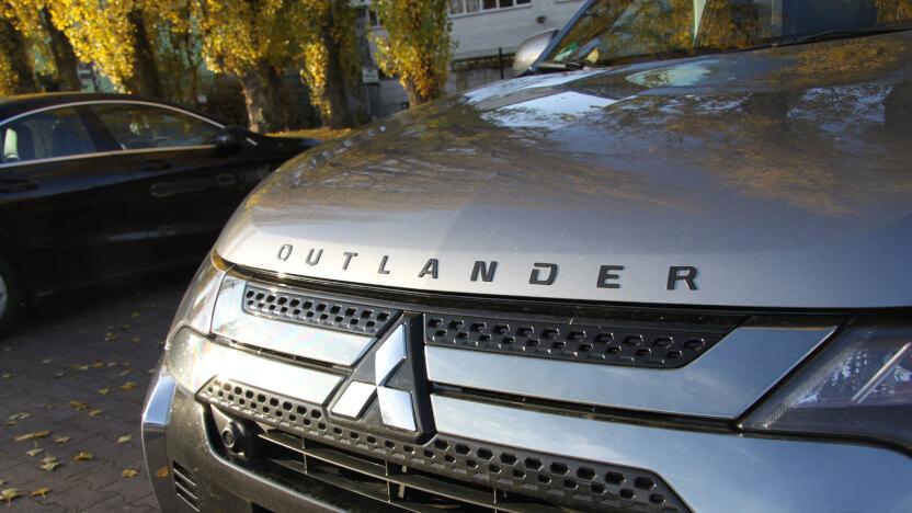 Outlander PHEV Test Grill